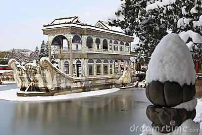 The Marble Boat ,The Summer Palace,China