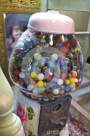 Antique Marble Bubble Gum
