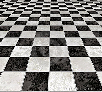 Marble Checkered Tiles Stock Images Image 2929064