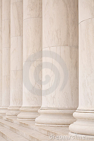 Free Marble Columns Stock Photography - 6965142
