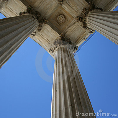 Marble columns at Supreme court