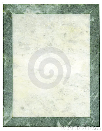 Marble frame-plate