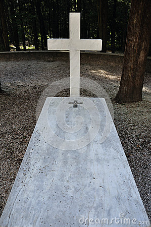 Marble grave tombstone