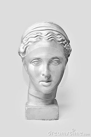 Free Marble Head Of Young Woman, Ancient Greek Goddess Bust. Sculpture Executed In Accordance With Modern Standards Of Beauty Royalty Free Stock Photo - 92358425