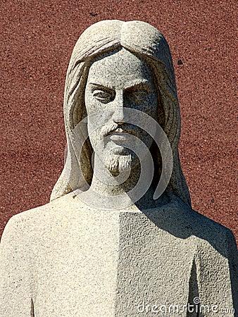 Free Marble Jesus Royalty Free Stock Image - 574416