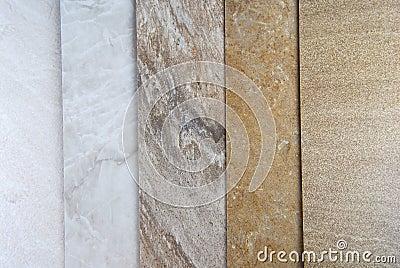 Marble samples