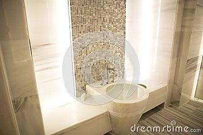 Marble sauna