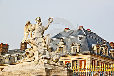 Marble sculpture at Versailles palace 1