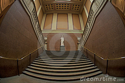The Marble Stairway