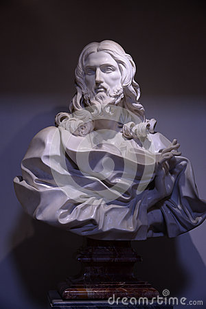 Free Marble Statue Of Jesus Christ Royalty Free Stock Image - 91880136