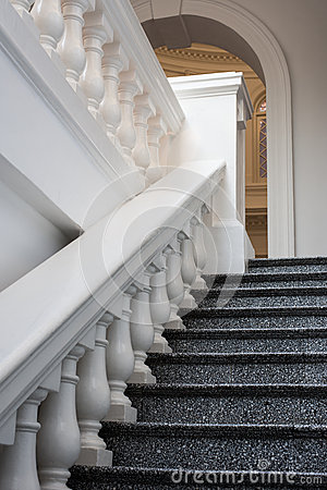 Marble Steps and Railing