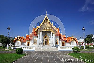 The Marble Temple, Bangkok, Th Stock Photo