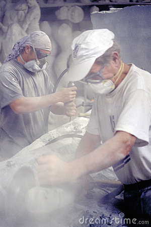 Free Marble Worker Stock Photography - 251442