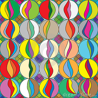 Marbles Colorful Seamless Pattern_eps Stock Image - Image: 22480481