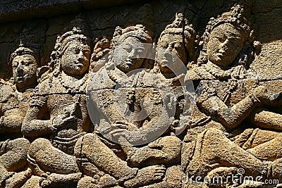 Marbles in Borobudur