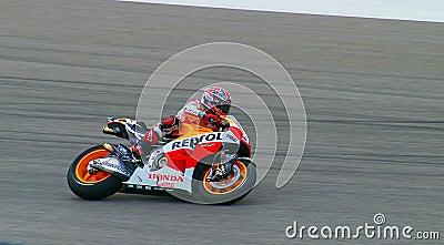 Marc Marquez at Austin MotoGP 2014