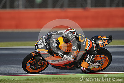 Marc marquez, moto 2, 2012 Editorial Photography