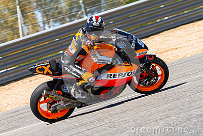 Marc Marquez pilot of Moto2  of the MotoGP Editorial Photography