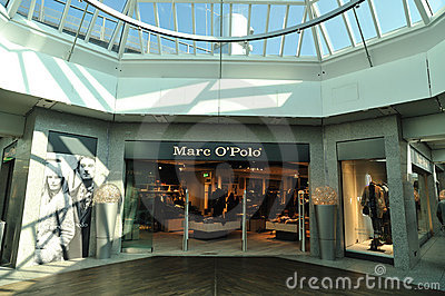 Marc O Polo clothes store Editorial Image