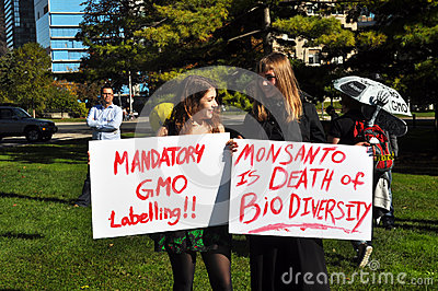 March Against Monsanto, Toronto Editorial Photo