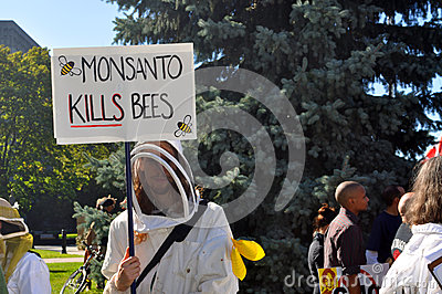 March Against Monsanto, Toronto Editorial Image