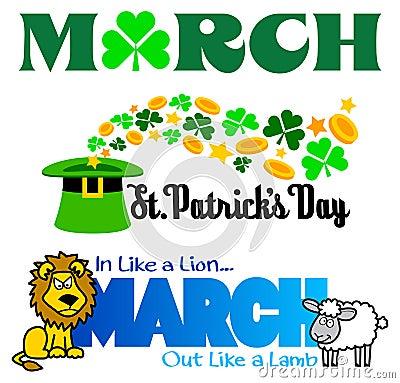 march clip art stock illustration image 44872820