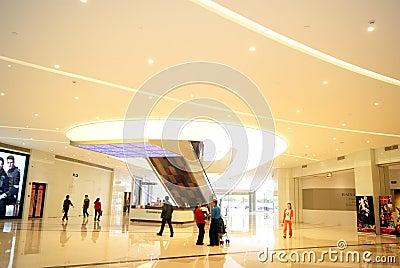 Shenzhen china: haiya binfen city shopping plaza Editorial Image
