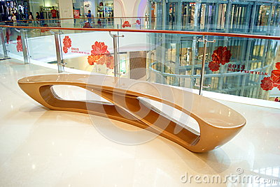 Shenzhen china: haiya binfen city shopping plaza Editorial Stock Image