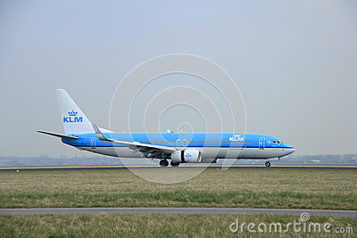 March, 24th 2015, Amsterdam Schiphol Airport PH-BCA KLM Royal D Editorial Stock Photo