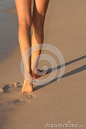 Marche de plage
