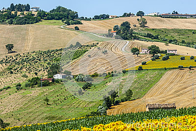 Marches (Italy), landscape