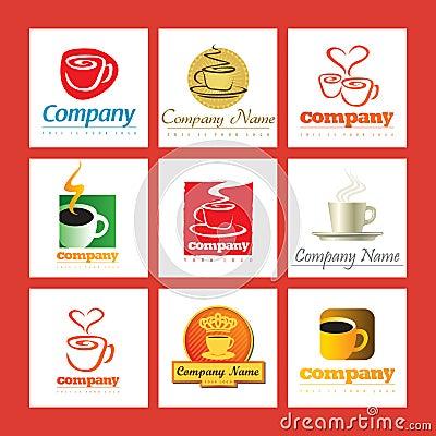 Coffee Manufacturers Logos : Marchi Dell azienda Del Caffe Immagine Stock - Immagine: 14055931