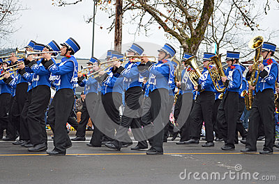 Marching Band Editorial Photography