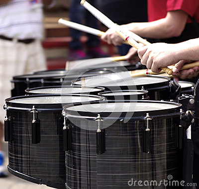 Free Marching Drummers Stock Photos - 53400983