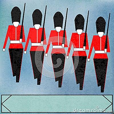 Marching Guardsmen