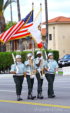 Marching Soldiers Editorial Image