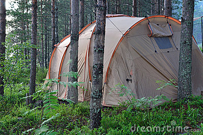 Marching tent
