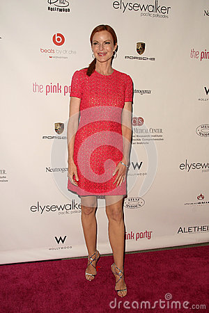 Marcia Cross,Pink Editorial Image