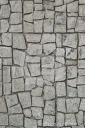 Marciapiede di pietra