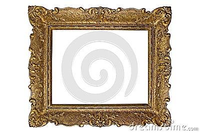 Marco antiguo de la foto
