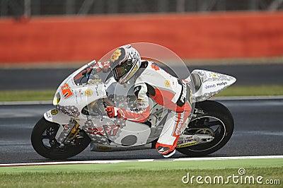 Marco colandrea, moto 2, 2012 Editorial Image