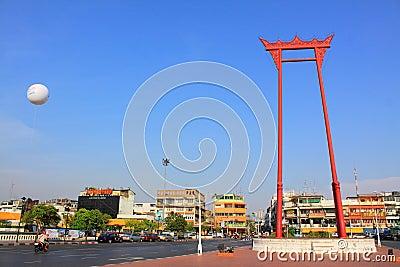 Marco de Banguecoque - balanço gigante Fotografia Editorial
