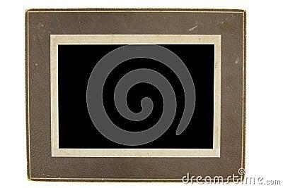 Marco de la foto de la antigüedad