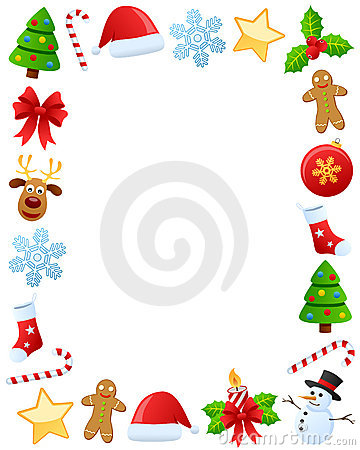 Marco de la foto de la Navidad