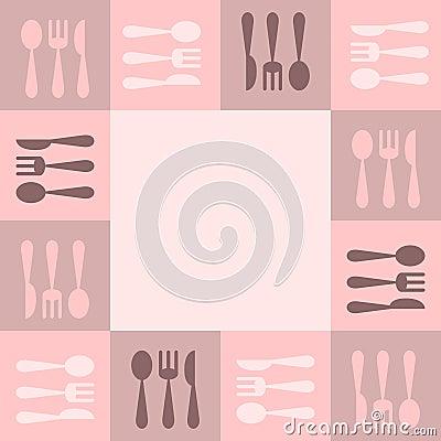 Marco de los utensilios de cocina foto de archivo imagen for Instrumentos de cocina