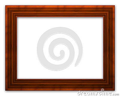 Marco de madera fotograf a de archivo libre de regal as - Marcos de fotos madera ...