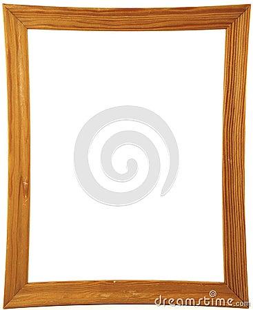 Marco de madera para un cuadro fotograf a de archivo libre - Marcos de fotos madera ...