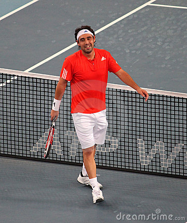 Marcos Baghdatis (CYP), tennis player Editorial Image