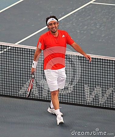 Marcos Baghdatis (CYP), tennis player Editorial Image