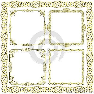 Bordes marcos dorados para diplomas wallpapers real madrid - Marcos decorativos ...